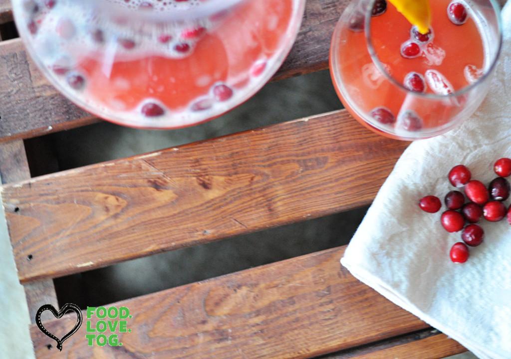 Cranberry Orange Punch | foodlovetog.com