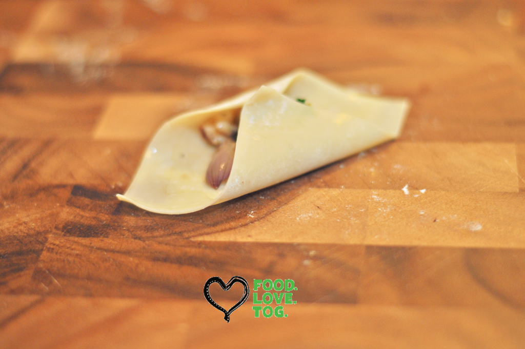 Chicken & Crimini Mushroom Wontons | Foodlovetog