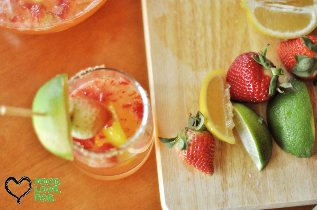 Spiked Strawberry Limeade | FoodLoveTog