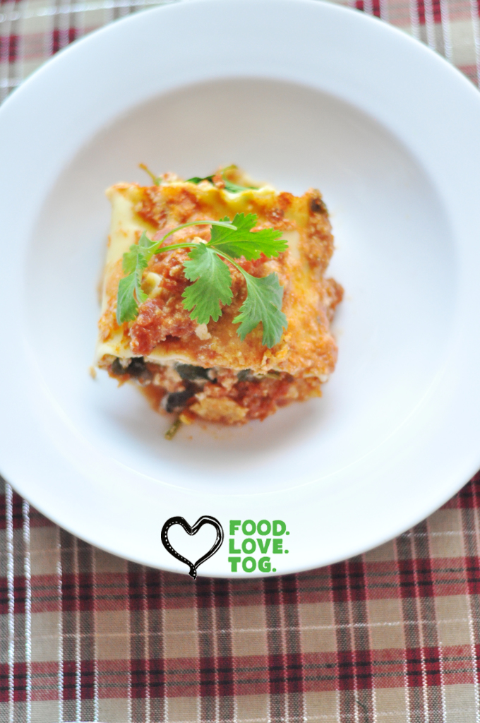 Vegetable Lasagna Rolls | FoodLoveTog