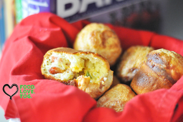 Savory Popovers | Indianapolis Food Blogger