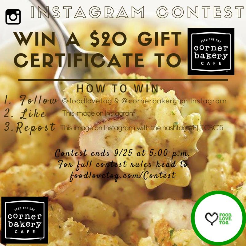 Instagram contest- Corner Bakery (1)