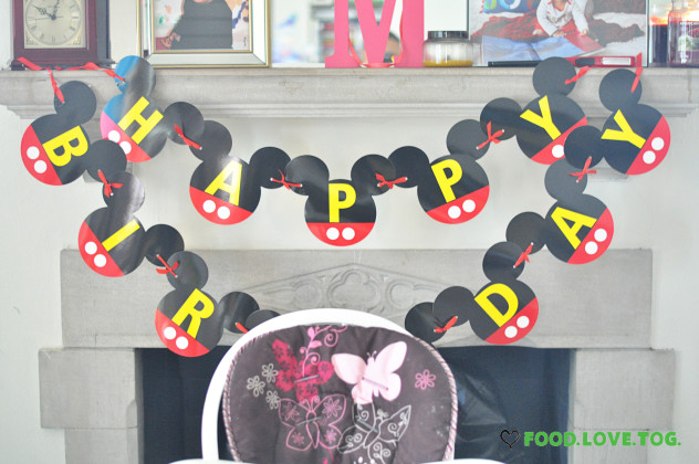 Mickey's Clubhouse Party  Foodlovetog.com