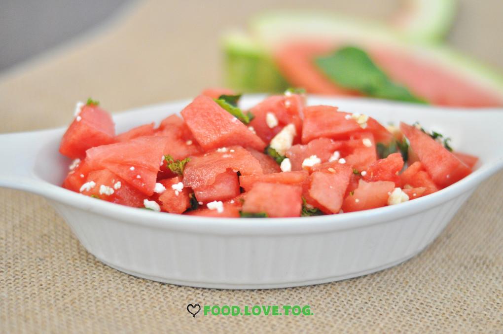 Watermelon Salad |Foodlovetog.com