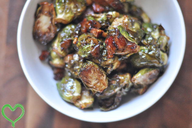 Bacon, Brown Sugar, Balsamic Brussels Sprouts |foodlovetog.com