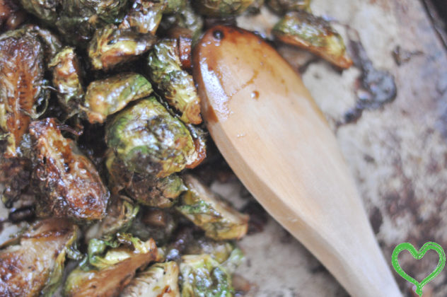 Bacon, Brown Sugar, Balsamic Brussels Sprouts |foodlovetog.com